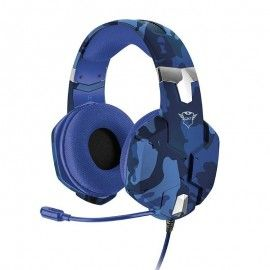 AURICULARES GAMING TRUST GAMING GXT 322B CARUS DRIVERS 50MM