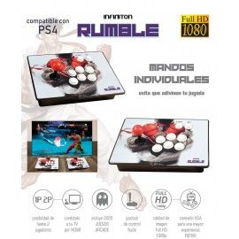Máquina Arcade INFINITON RUMBLE FULL HD 2020